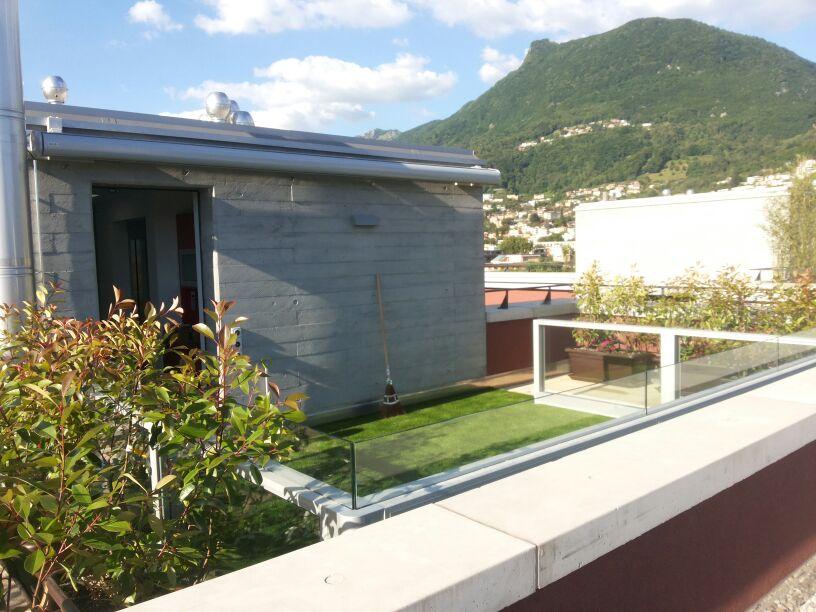 Parapetti in vetro Bergamo, Brescia, Milano
