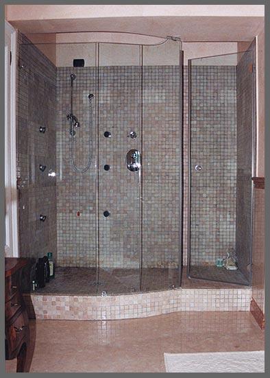 Box doccia su misura a milano covea vetri - Vetri per doccia ...