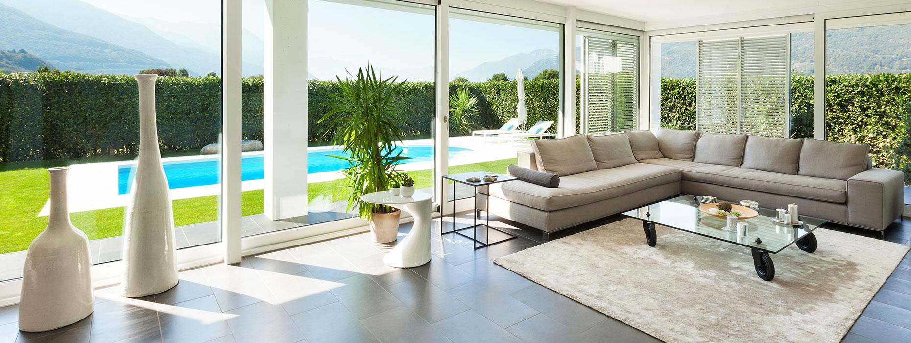 Pavimenti In Vetro Per Esterni porte in vetro a bergamo per interni e esterni