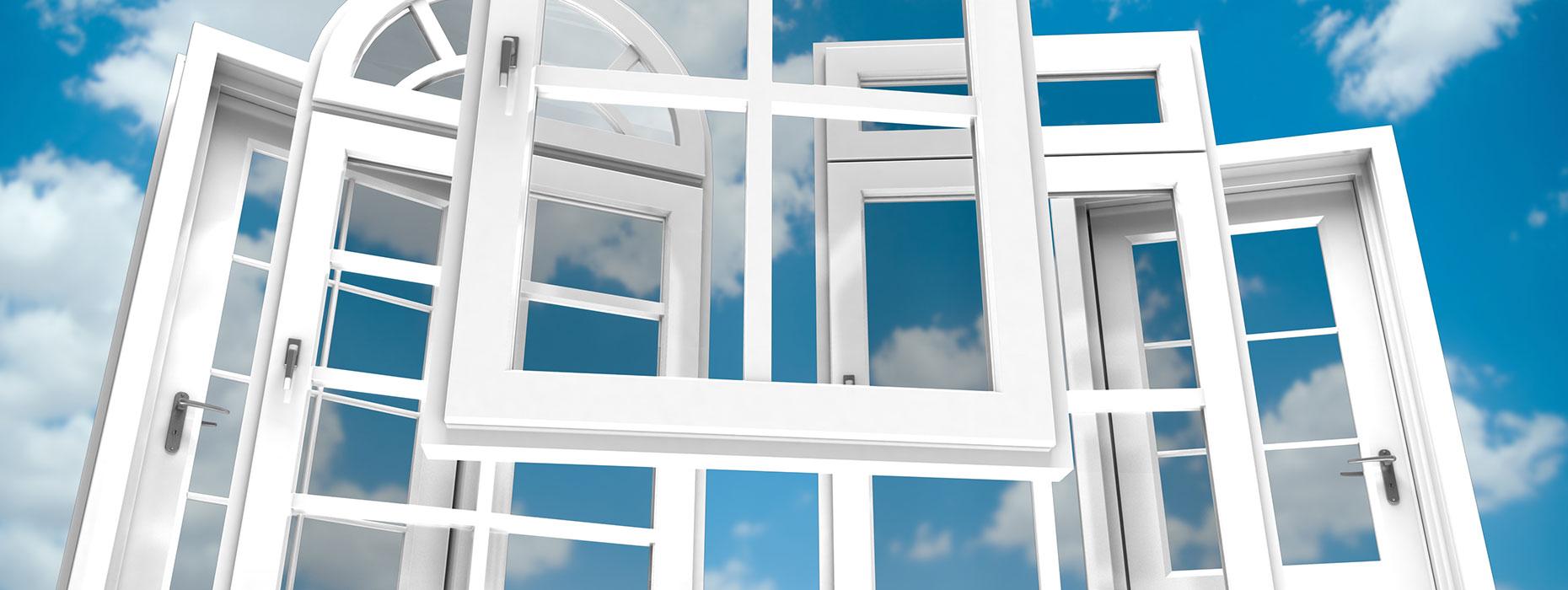 vetri per finestre