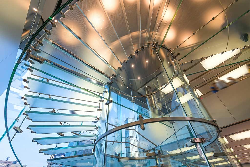 vetro per scale