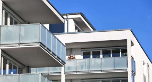 Balconi in vetro Milano
