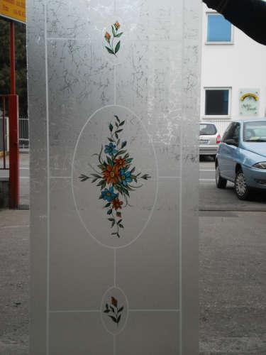 Vetri decorati a Bergamo