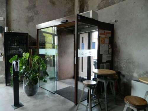 porte automatiche in vetro per interni